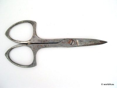 Vintage nail scissor. German design from 1980s.