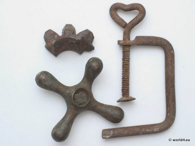 Antique metal stuff, scrap