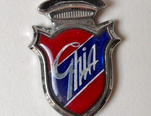 Ghia Emblem. Italian Automobil Manufactory.