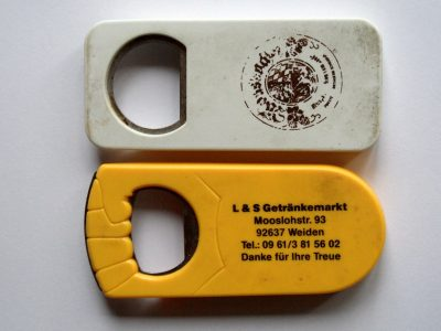 Design promotional bottle opener, Germany 1980s