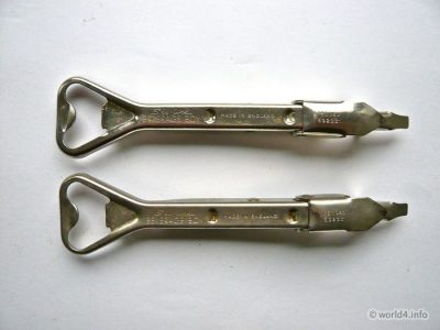 Waiters best friend. England Bar tool. Bottle Opener Vintage