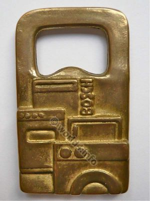 Bosch Promotional. Bottle opener, Mid-Century Design. Rare Collectible