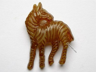 Zebra brooch. Fashion jewelry. Design animal sculpture