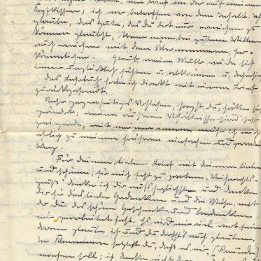Handwritten letter. Sütterlin. German Empire.