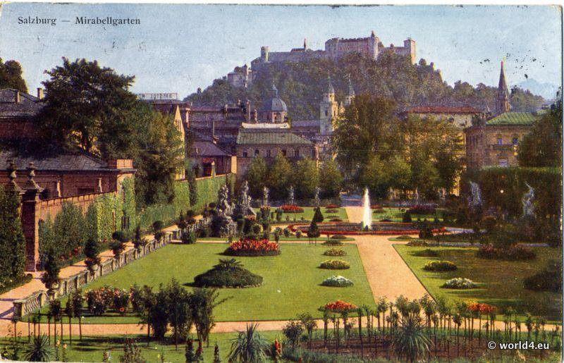 Schloss, Mirabell, Palace, Salzburg