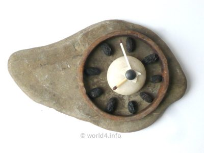 Natural Design Stone watch clock