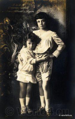 Prince Luitpold and Prince Albert, Erbprinz Luitpold und Prinz Albrecht. German nobility
