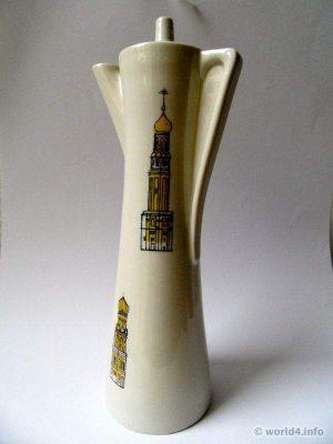 Vintage Caffè mocha porcelaine design decor Tsar Coffee