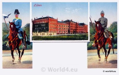 AK Lüben, Schlesien, Lubin selesia, Collectible postcard Topography