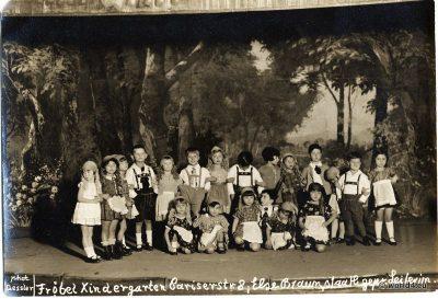 Private Froebel Kindergarten, Children's Theatre Berlin