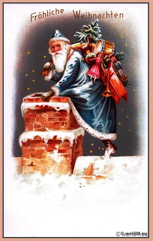 Santa Claus, Snowy, Germany Christmas,