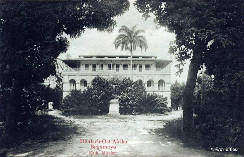 German East Africa Bagamoyo Colonial Architecture 1919