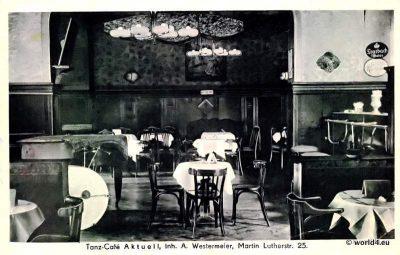 Tanz Cafe,Aktuell, Berlin, Schöneberg, Postkarte