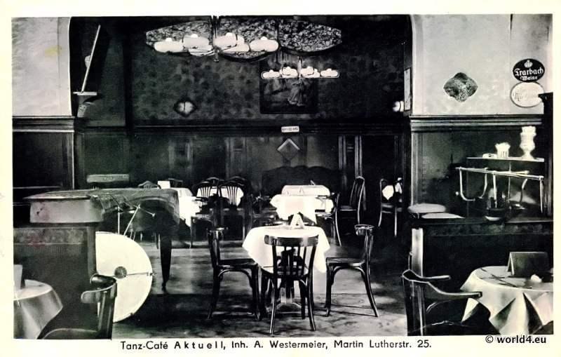 Tanz Cafe, Aktuell, Berlin, Schöneberg, postcard, collectible