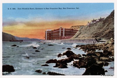 Fort Winfield Scott, Fort Point National Historic Site, San Francisco Bay