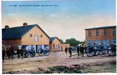 Artillery Drill, PresidioSan Francisco, California