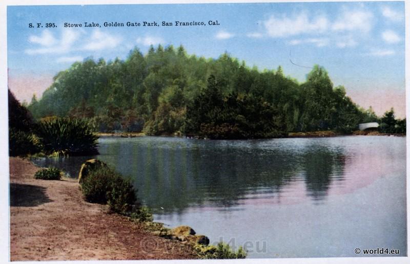 Stowe Lake, Golden Gate Park, San Francisco California