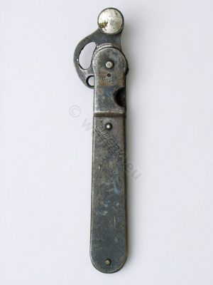 Antique Sieger Can Opener. D.R.P. German Brand. Made in Solingen, Germany, 1920