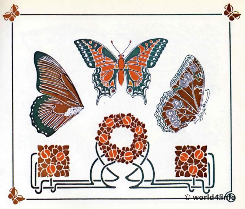 Alfons Mucha, Art nouveau, illustration,Ornament