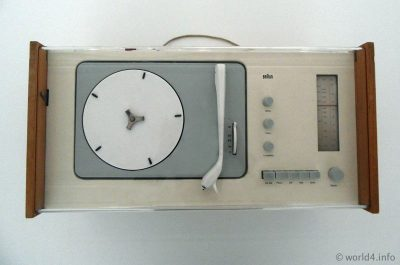 Braun SK 4 Radio-Phone Combination. Germany Designer Dieter Rams, Hans Gugelot. German Industrial design