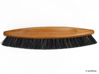 Old German craftsmanship. Design Brushes with natural bristles. Clothes brushes, shoe brushes.