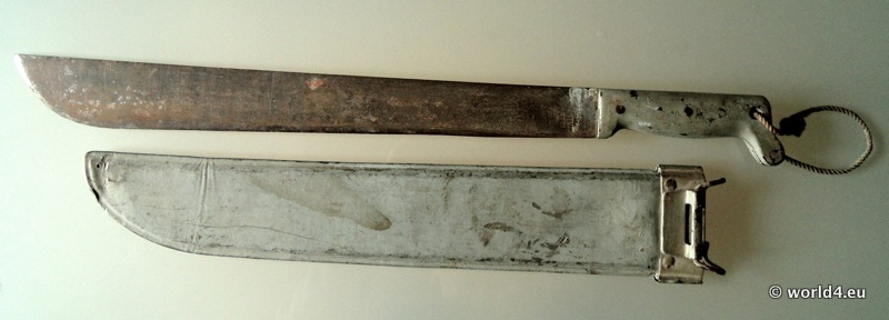 Second World War II. U. S. Army equipment, Legitimus Collins Machete