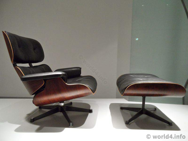 Charles Eames, Lounge Chair, mid century design
