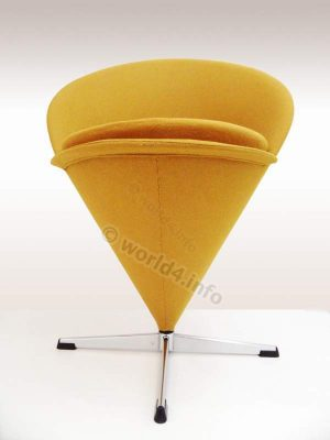 Verner Panton, Cone Chair, Lounge, space age,
