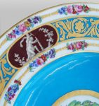 Sèvres porcelain for Catherine the Great of Russia French royal factory of Sèvres. Antique dish plates