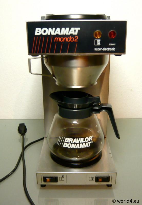 Industrial coffee machine Bravilor Bonomat, mondo 2, Super electronic. German Industrial design