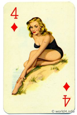 Vintage Bandeau Bikini fashion, swimsuit Marilyn Monroe Style. Beautiful pin-up girl clothing. Retro Dresses Mid-century