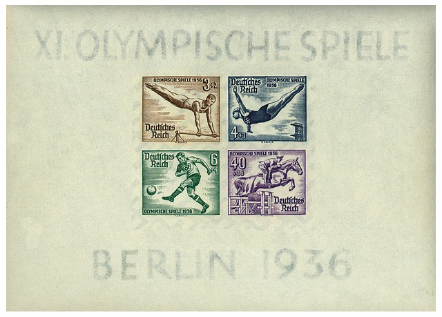 Olympic Games, Berlin, 1936, Stamps, German Empire, Olympia, Philately