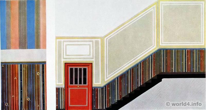 Stairwell, Otto Rückert, Germany, Art Deco, Interior design, architecture, furniture, decoration, Neue Sachlichkeit, Bauhaus, New Objectivity