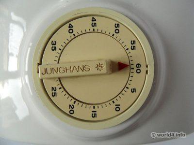 ATO-MAT, Atomat Junghans Kitchen clock. German design.
