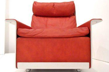 Dieter Rams Chair RZ 62. Vintage Furniture design. Braun Germany.