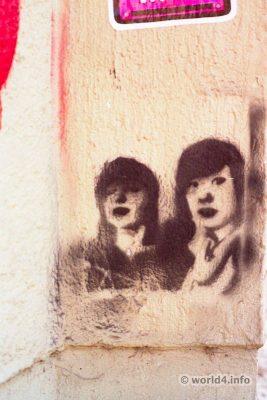 German street artist. Halle Germany Streetart scene. Graffiti Stencil street art. Halle Germany Streetart scene.