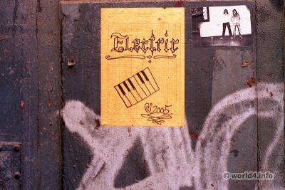 German street artist. Graffiti Stencil street art. Halle Germany Streetart scene