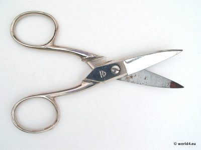 Manicure scissors. Solingen Germany. Nail scissors
