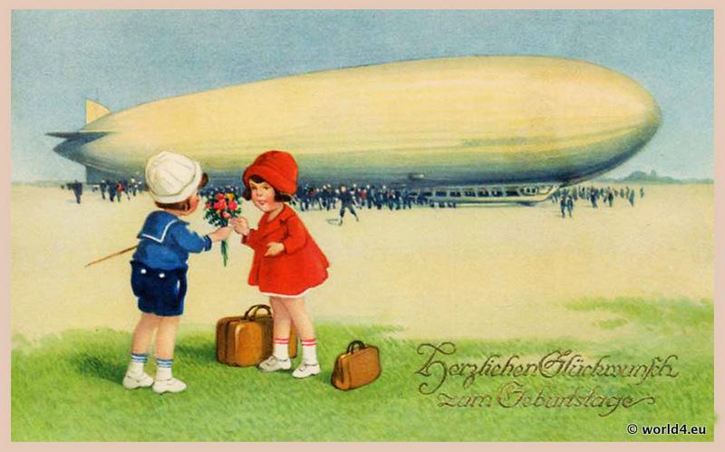 German birthday cards gangcraft airship birthday greeting card lost and found birthday card stopboris Gallery