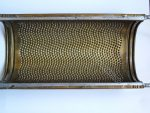 Antique potato grater. Collectible Kitchen Grater or Strainer