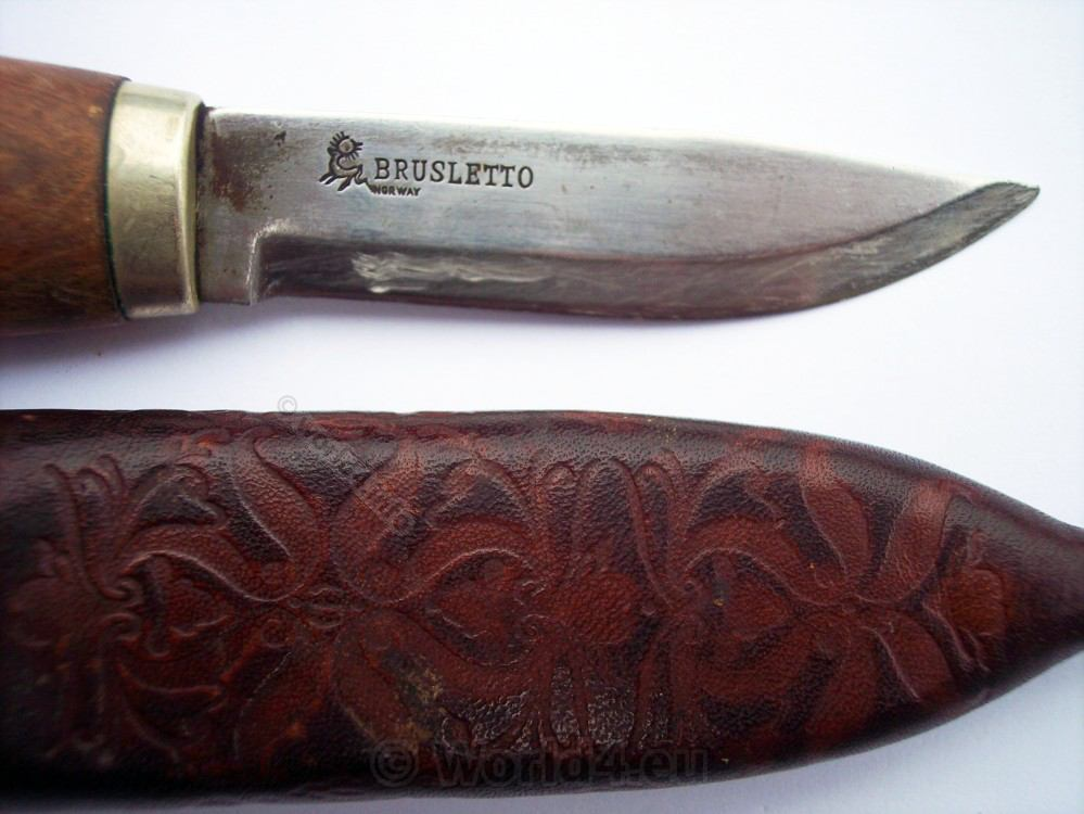 Brusletto Hunting Knife From Norway Lost And Found