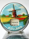Continuous calendar. Souvenir from Dutch. Netherlands 1960s Design Kitsch.