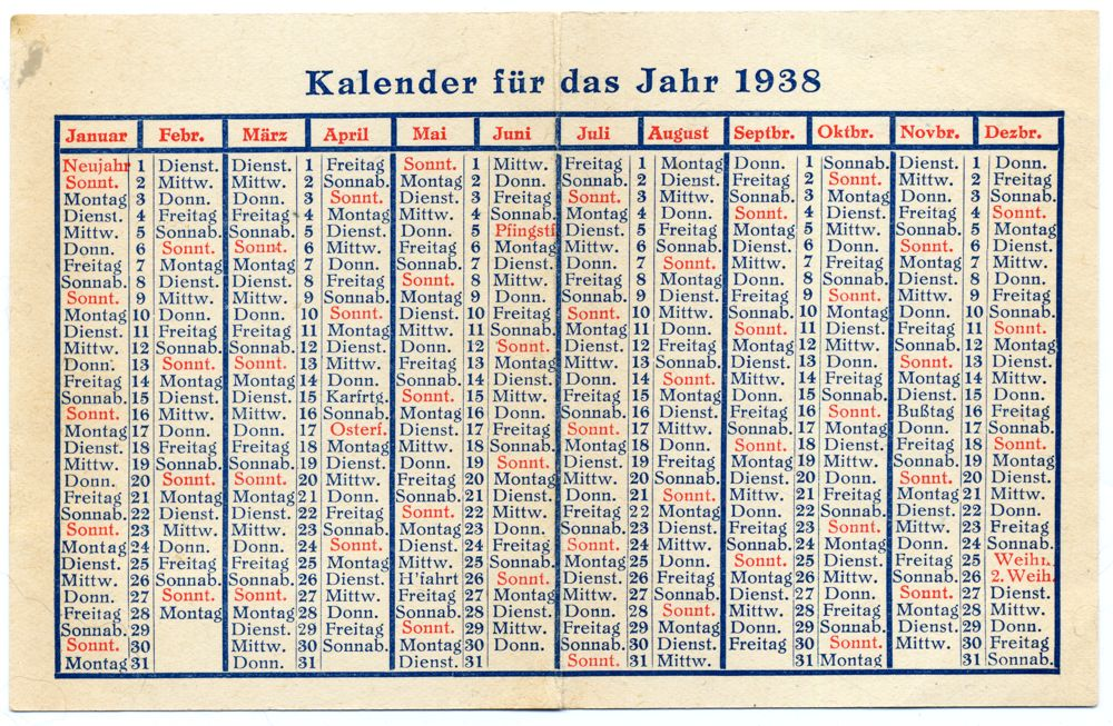 Calendar Typography Yamaha : German calendar to lost and found