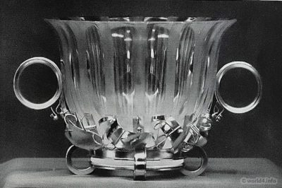 Vase design of Paula Straus. Design Bauhaus, Art deco.
