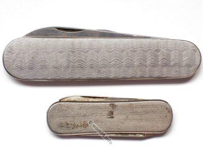 Old Pocket knife. Mid century design, 1950s.