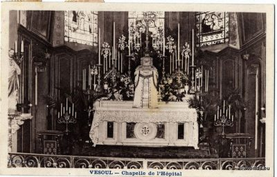 Vesoul, Chapelle de l'Hopital, Postcard, France, Collectible,
