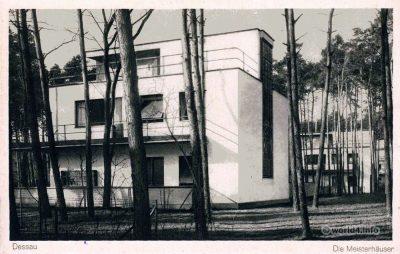 The Original Bauhaus Dessau Masters' Houses 1926. Walter Gropius. Modernist. Modern German Architecture.