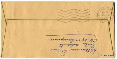 cover, Template, Handwriting, Philately, Postmark, Autograph