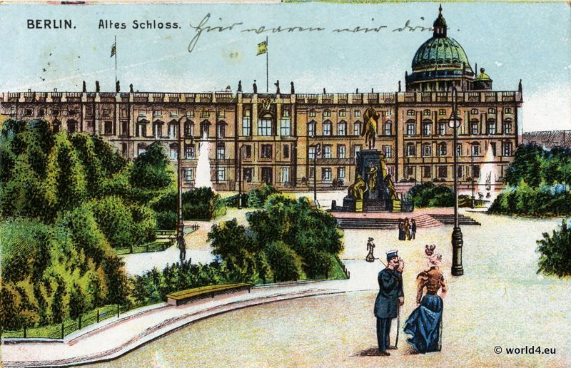 berlin city palace old castle 1900 lost and found. Black Bedroom Furniture Sets. Home Design Ideas