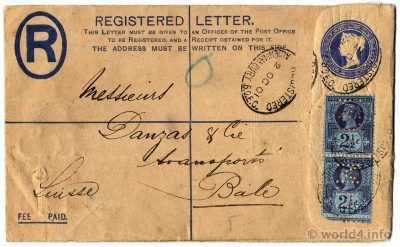 England Postage & Revenue. Rare England Stamps. Collectible Philately. Handwriting Template. Postmark.